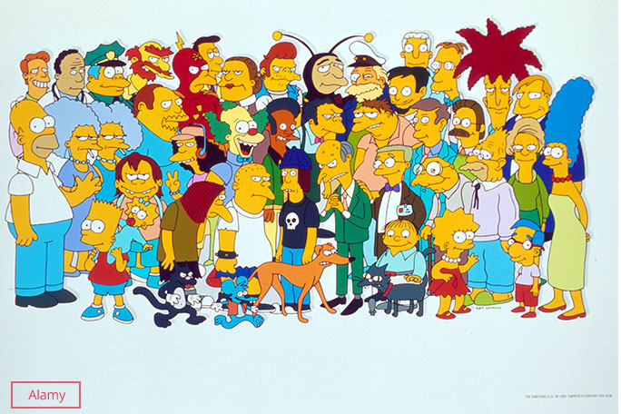 selection-of-characters-from-the-simpsons-the-most-prolific-animated-sitcom