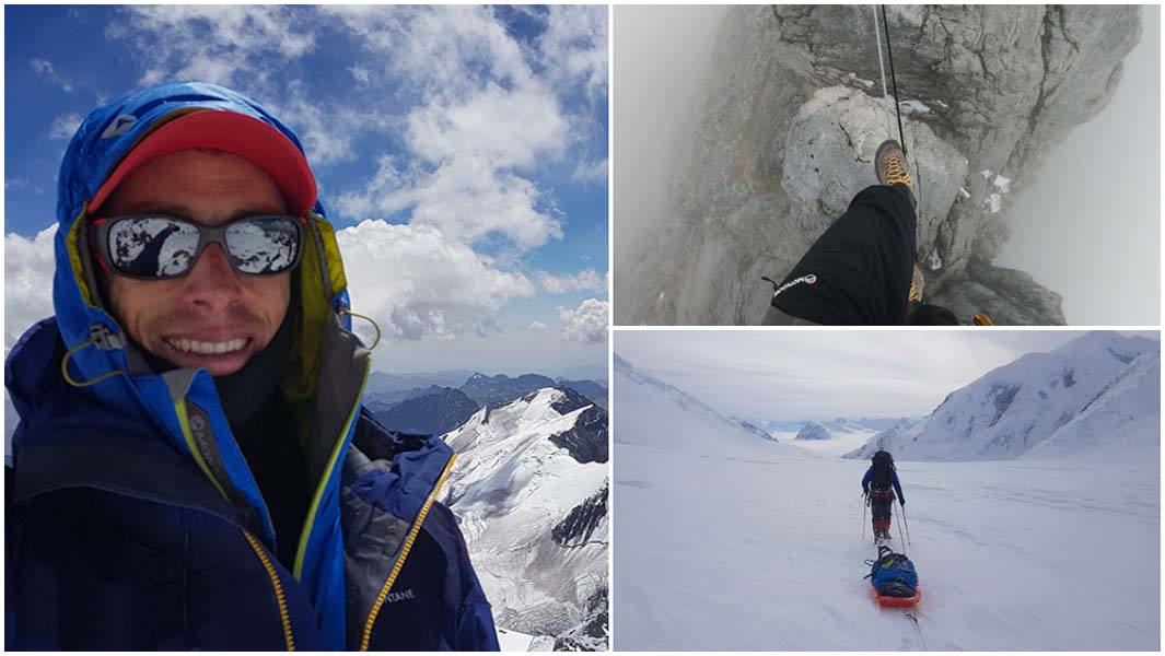 From being partially paralysed to climbing mountains in