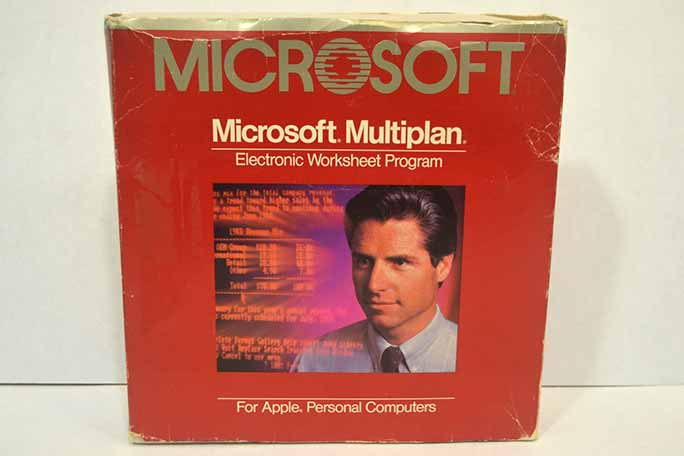 Microsoft Multiplan, the forerunner to Microsoft Excel