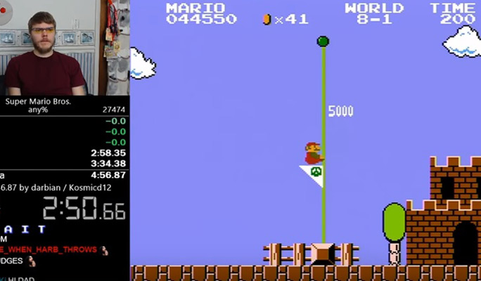 Fastest completion of Super Mario Bros 2