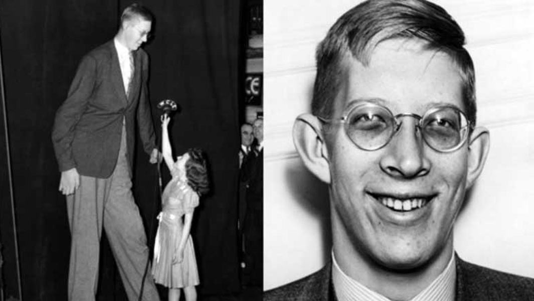 On This Day in 1918: The tallest man ever is born