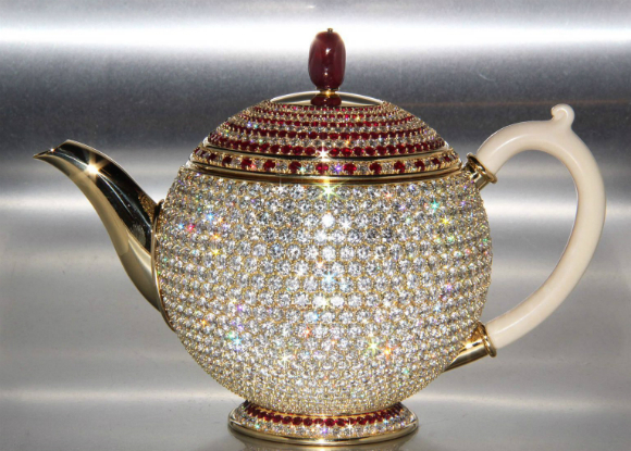 Most Valuable Teapot Bejewelled Piece Of Tableware Is Worth 3 Million Guinness World Records