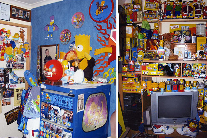 The largest collection of The Simpsons memorabilia