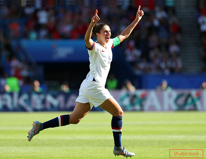 Women's World Cup Carli Lloyd