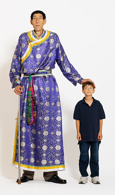 Xi Shun was the world's tallest man from 2005 to 2009
