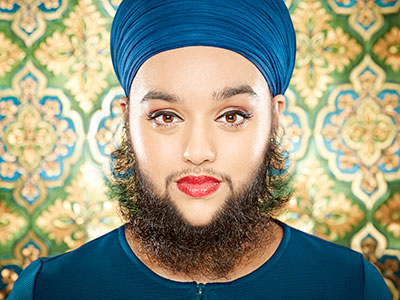 Youngest bearded lady