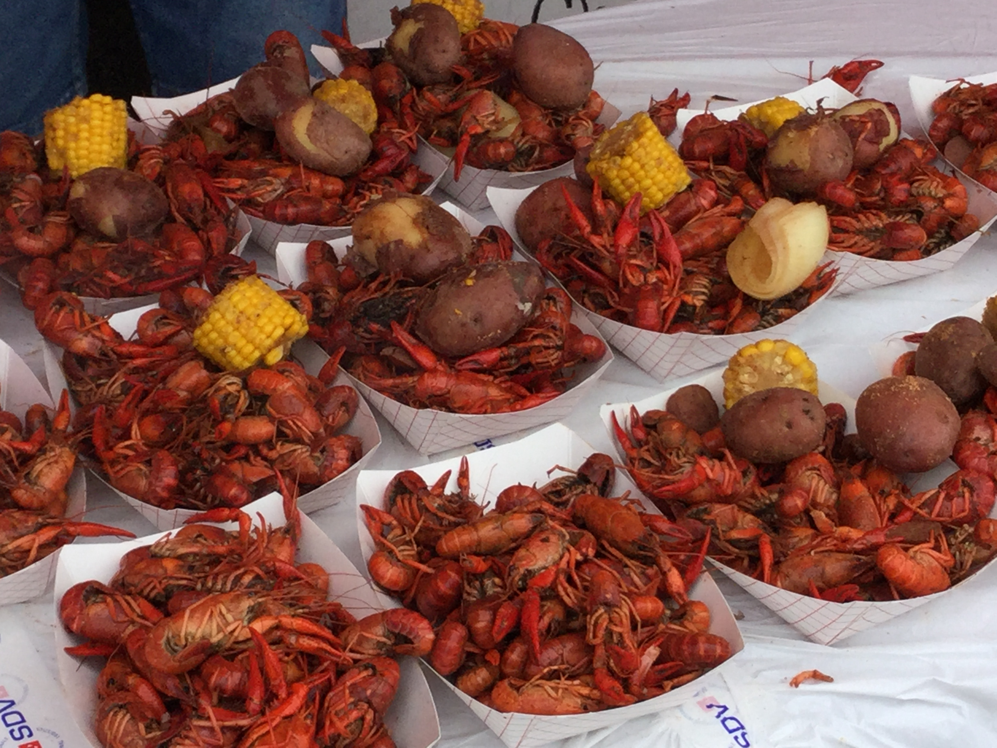 Most boiled crawfish prepared in 8 hours