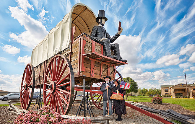 Largest covered wagon