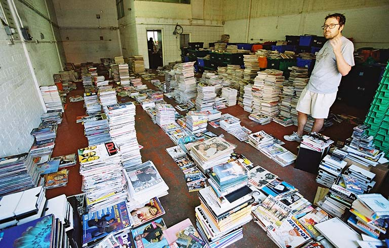 Largest collection of magazines