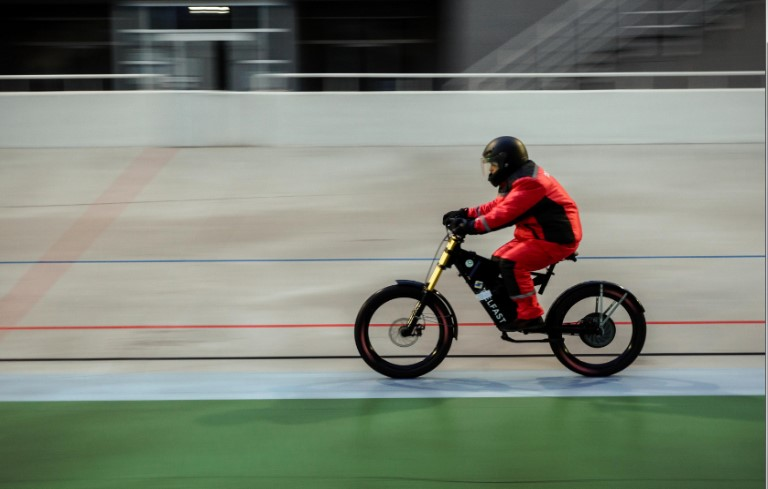Greatest distance by electric bicycle, single charge