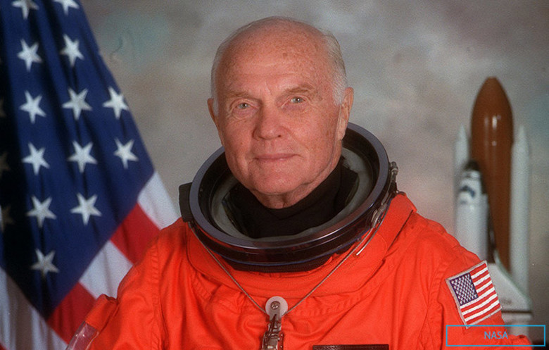 Oldest astronaut - male