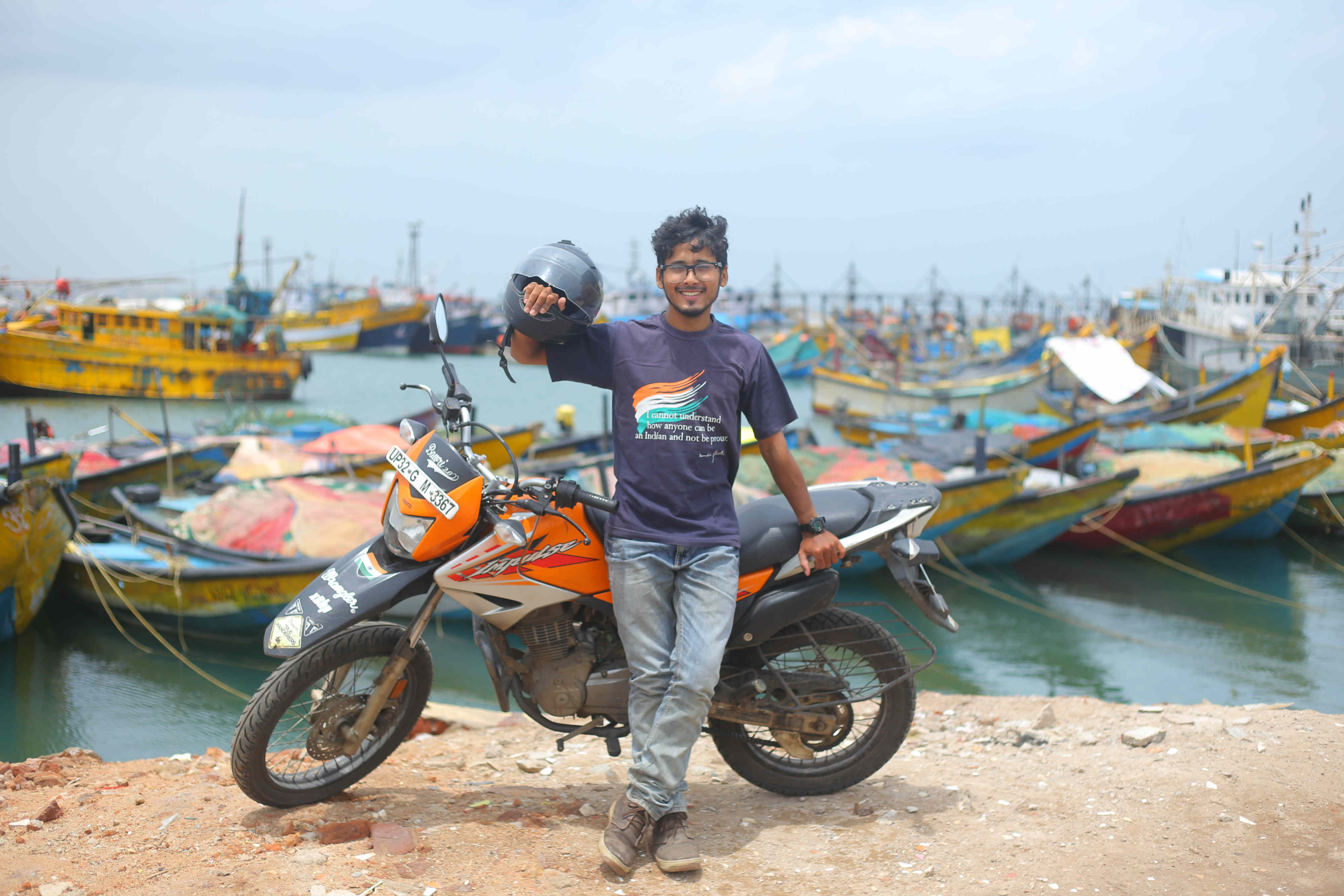 Longest journey by motorcycle in a single country (individual)
