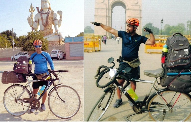 Longest journey by bicycle in a single country