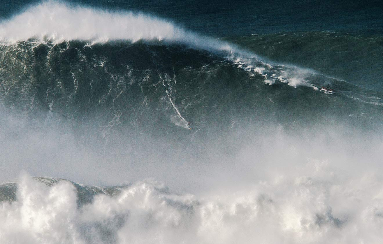 Largest wave surfed (unlimited) - male