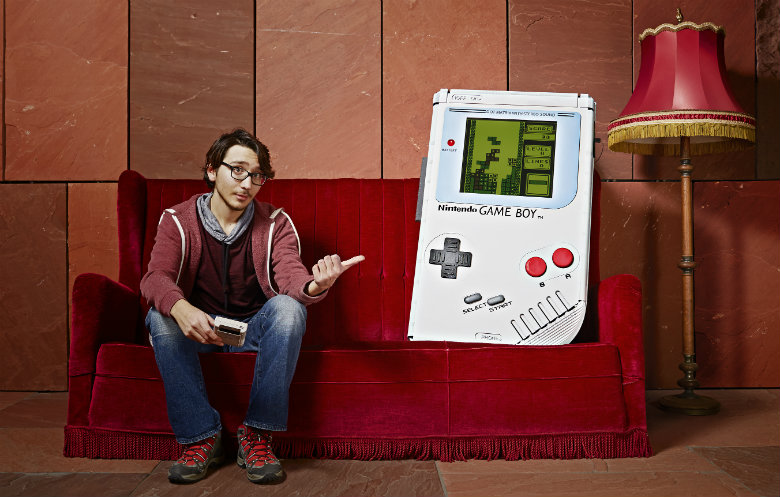 Largest Game Boy