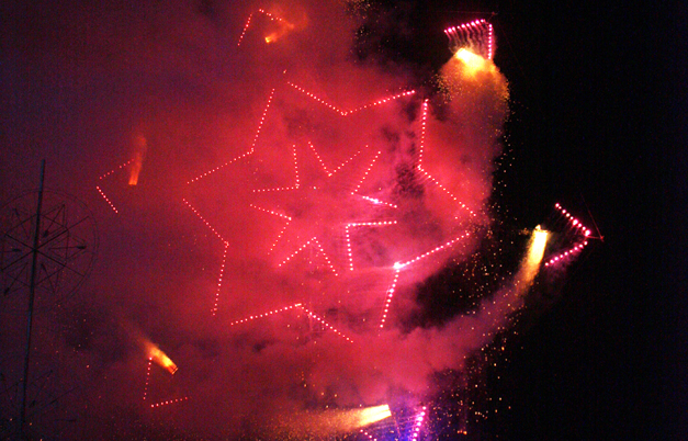 Firework - largest Catherine wheel