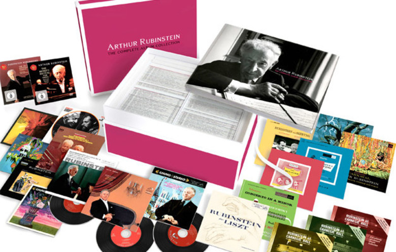 Largest CD box set for a classical instrumentalist