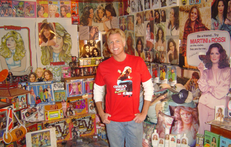 Largest collection of Charlie's Angels memorabilia
