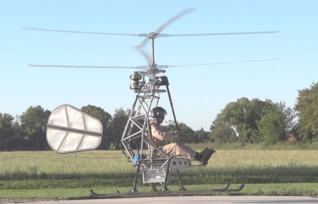 First electric helicopter