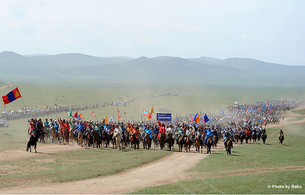 Largest horse parade