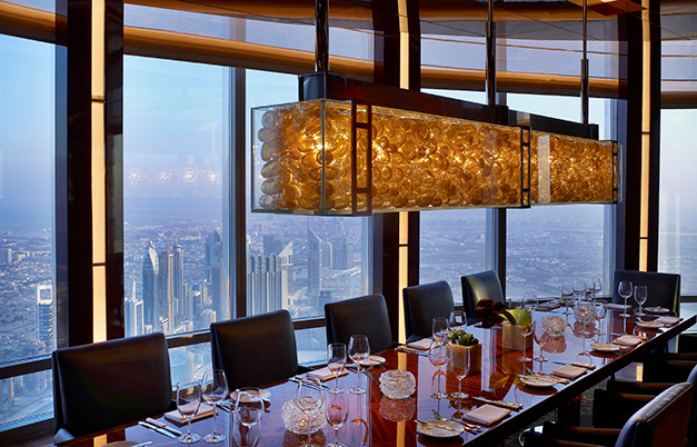 Highest restaurant from ground level