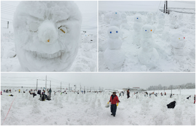 Most snowmen built in one hour