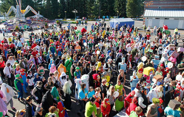 Largest gathering of people dressed as videogame characters