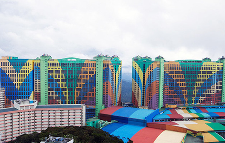 Largest hotel (number of rooms)