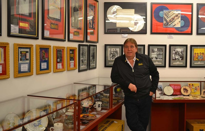 Largest collection of Beatles memorabilia