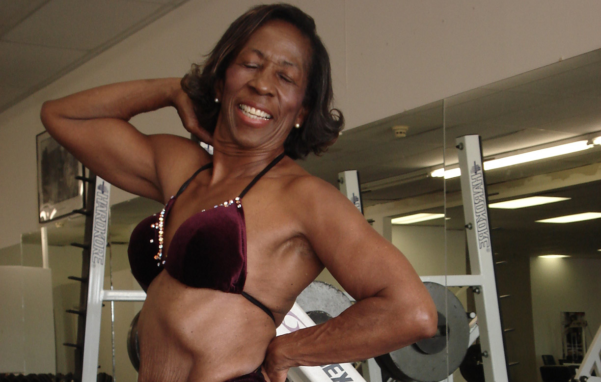 Oldest bodybuilder - female