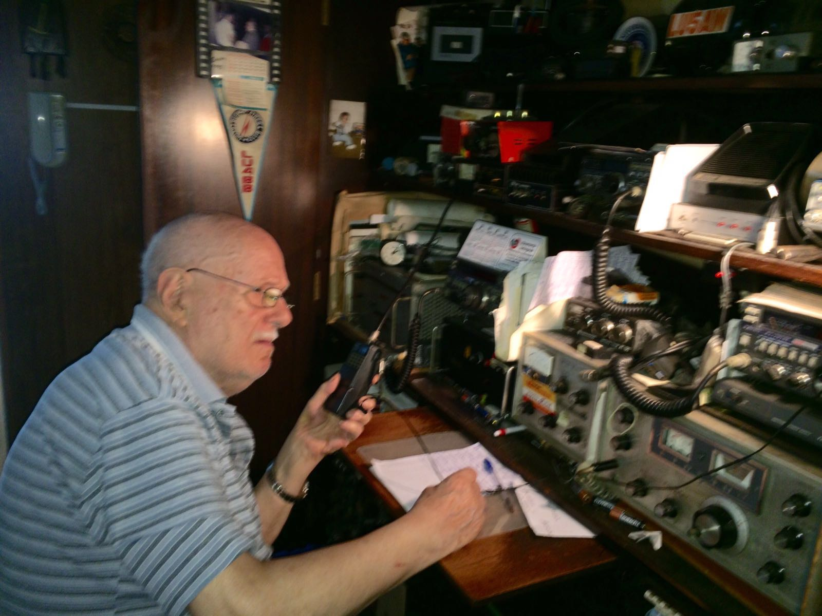 Oldest amateur radio operator (ham)