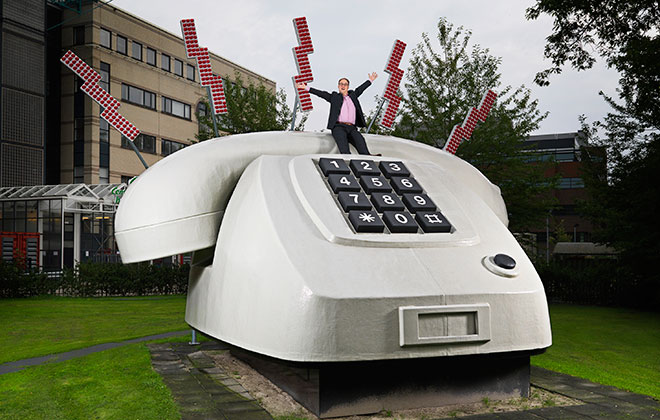 Telephone - largest