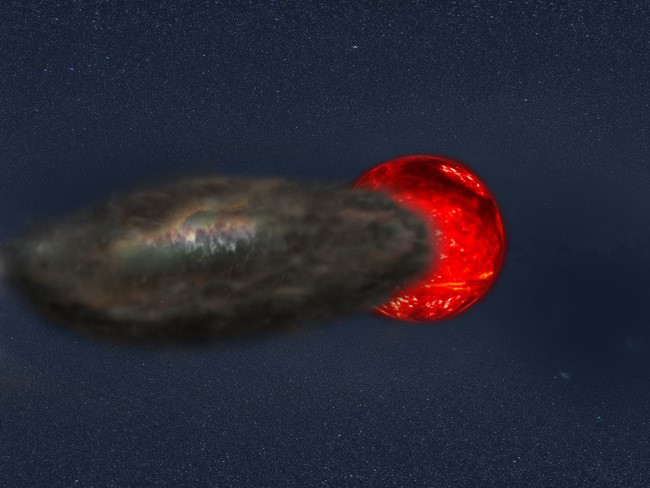 Longest stellar eclipse