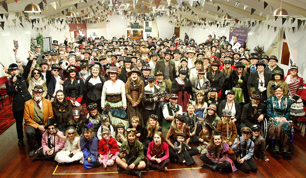 Largest gathering of steampunks
