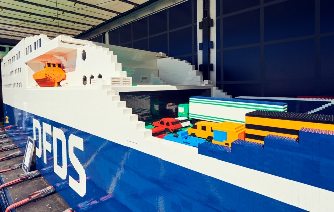 Largest LEGO® brick ship (supported)