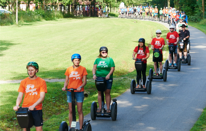 Largest parade of Segways