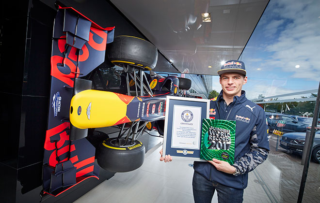 Youngest driver to win a Formula One World Championship race