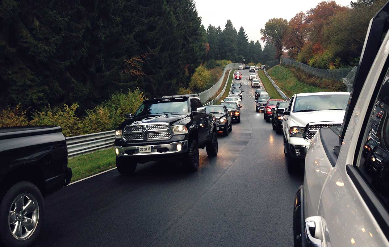 Largest parade of pickup trucks