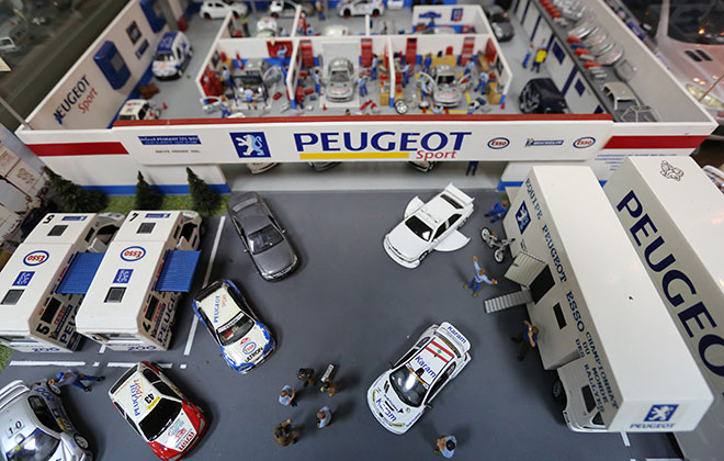 Largest collection of model cars