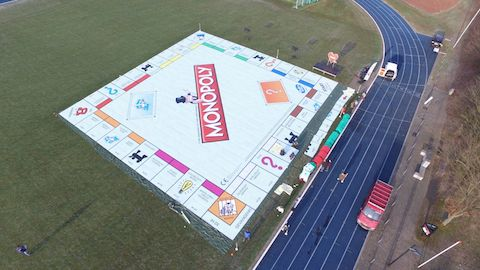 Largest board game, Monopoly®