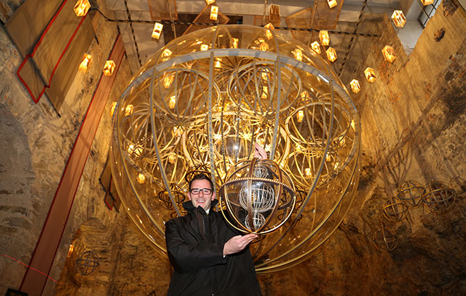 Largest Christmas bauble ornament