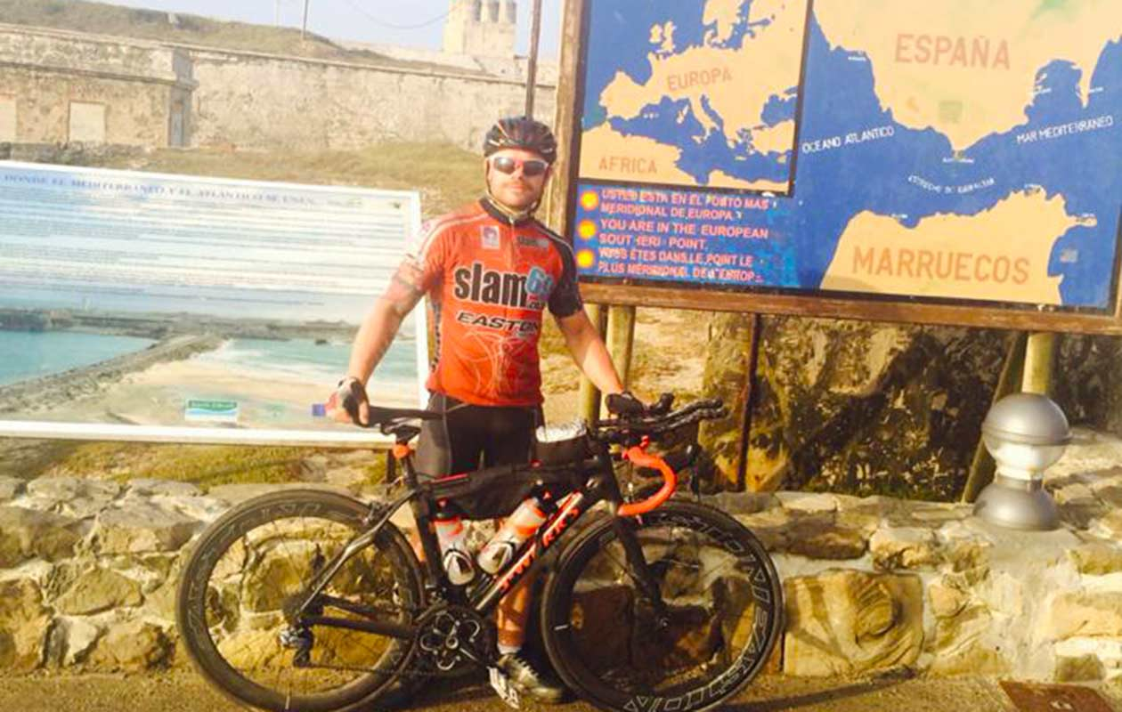 Fastest cycle across Europe (North Cape to Tarifa) - individual