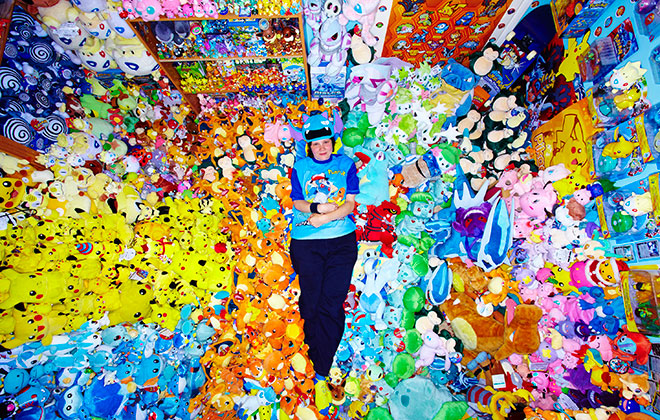 Largest collection of Pokémon memorabilia