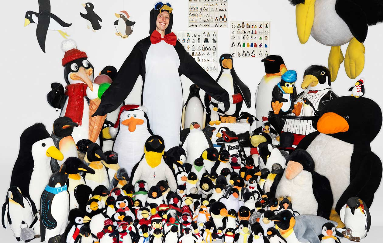 Largest collection of penguin-related items
