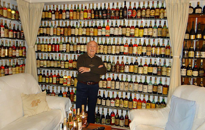 Largest collection of brandy