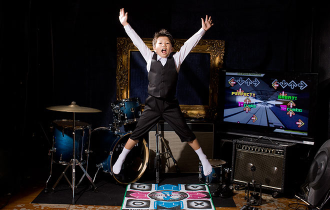 Youngest gamer to achieve a perfect score on Dance Dance Revolution