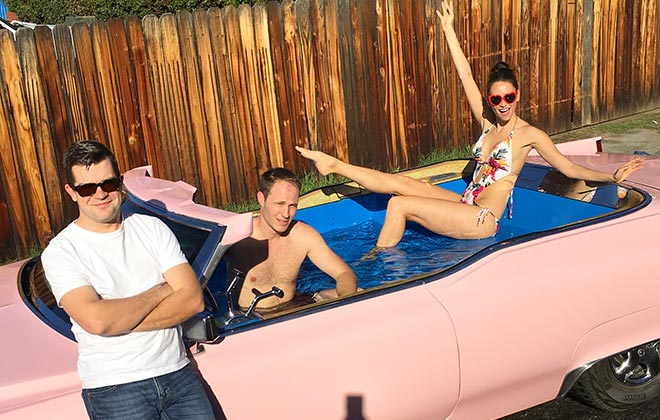 Fastest motorised hot tub