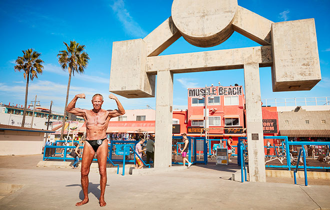 Oldest bodybuilder - male