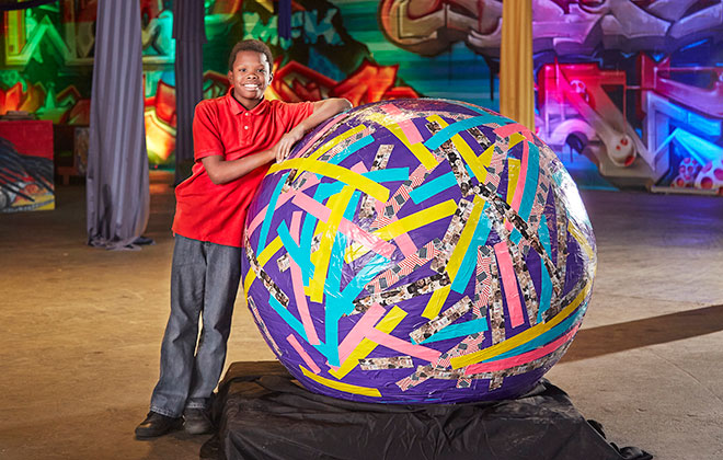 Largest tape ball