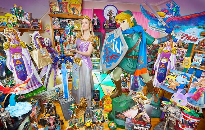 Largest collection of The Legend of Zelda memorabilia